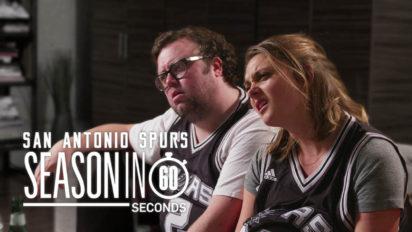 San Antonio Spurs Fans' Season in 60 Seconds