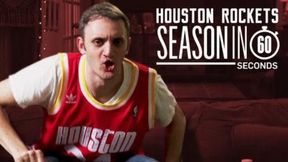 Houston Rockets Fans' Season in 60 Seconds