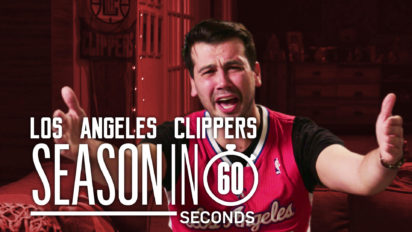 Los Angeles Clippers Fans' Season in 60 Seconds