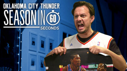 OKC Thunder Fans' Season in 60 Seconds