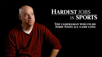 "The ""Jerry Jones"" Cameraman | Hardest Jobs in Sports"