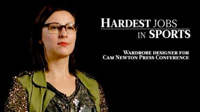 Cam Newton's Wardrobe Designer | Hardest Jobs in Sports