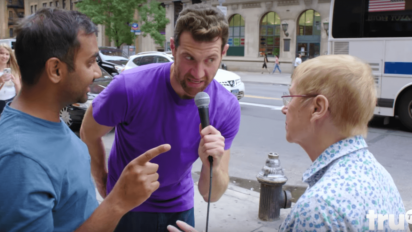 "Billy Eichner & Aziz Ansari Proclaim It's ""The Golden Age of TV""; Yell At Those That Disagree"