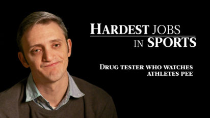 Drug Tester Who Watches Athletes Pee | Hardest Jobs in Sports