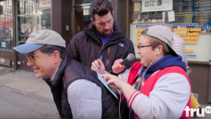 Stephen Colbert & Billy Eichner Get New Yorkers? Thoughts About Living In A ?Bubble?
