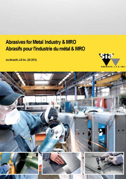 Abrasives for Metal Industry & MRO