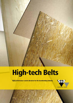 High-tech Belts