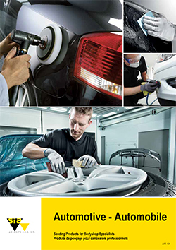 Sanding Products for Bodyshop Specialists