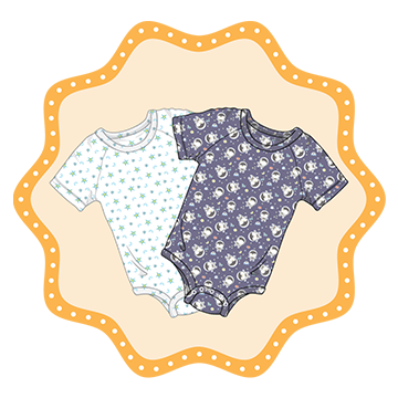 ABUniverse Patterned DiaperSuits™