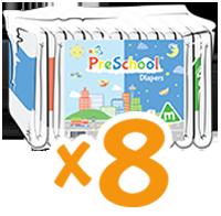 ABUniverse PreSchool Diapers