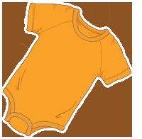 ABUniverse Coloured DiaperSuits™ Orange