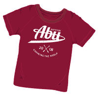 ABUniverse Changing The World T-Shirt Maroon