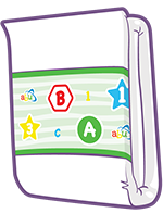 ABUniverse PreSchool Shapes Diapers