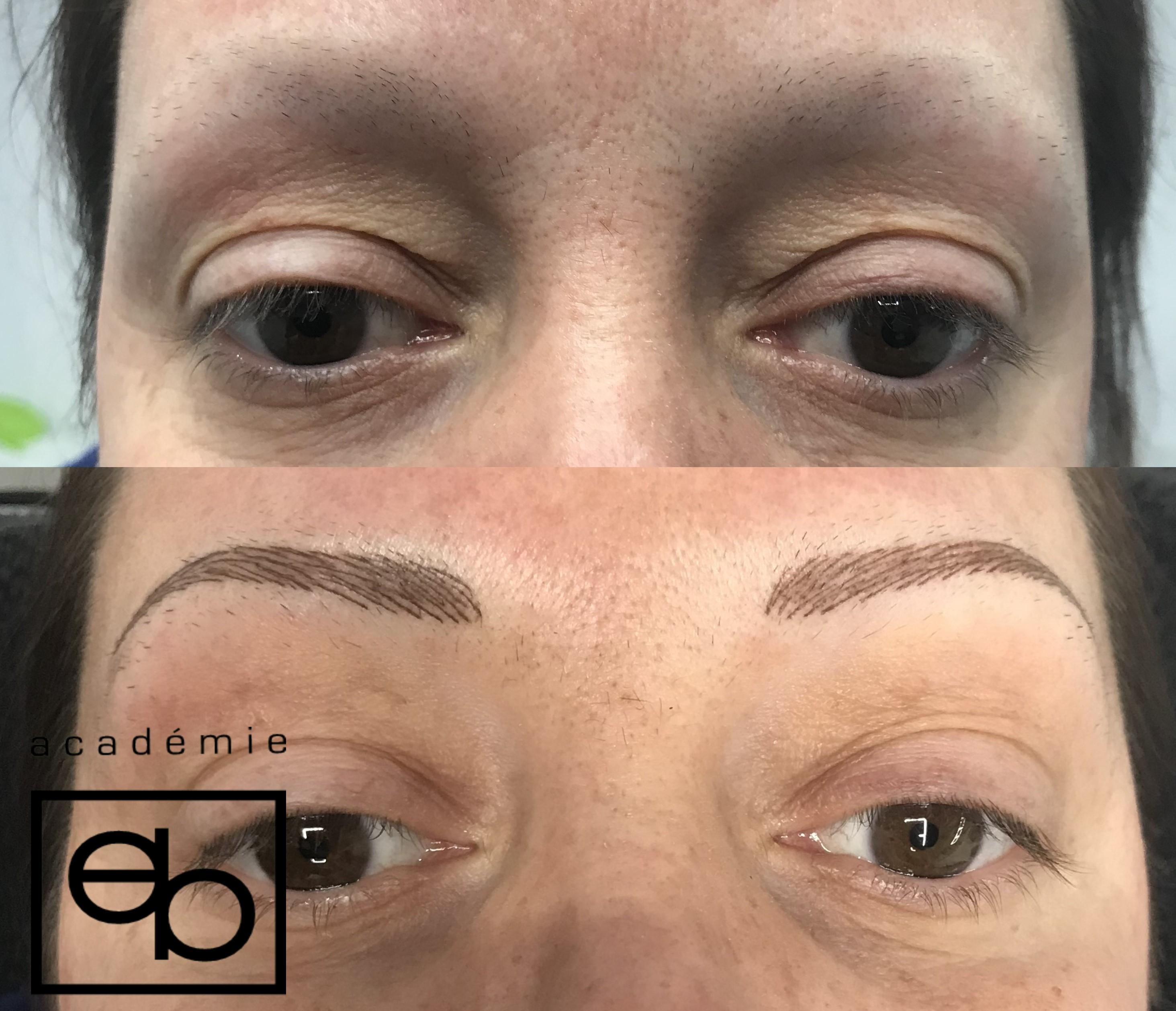 Résultats- Av/Ap Maquillage Permanent par Céline