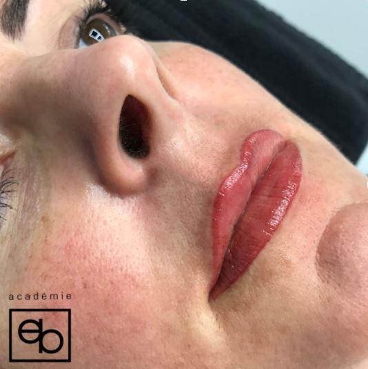 Résultats Maude - Maquillage Permanent Lèvres Complètes