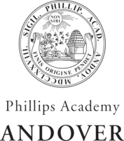 Andover  sealwordmark  bw transparent