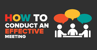 Mandate - How to Conduct Effective Meetings