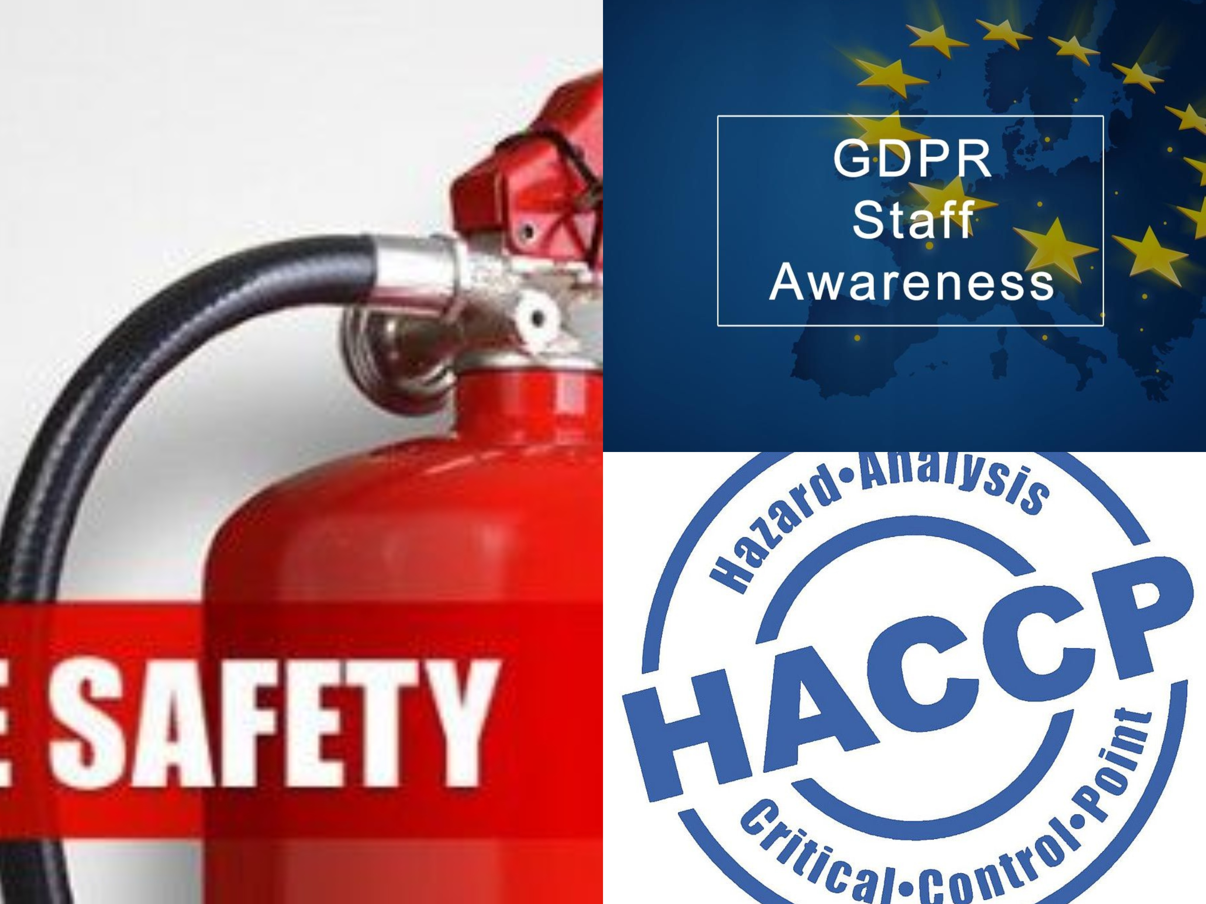 Mandate HACCP, GDPR and Fire Safety