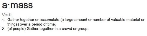 amass-definition