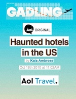 AOL Travel - Haunted Hotels in the US - Oct 2010