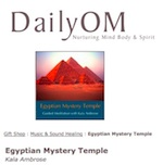 Review of Egyptian Mystery Temple by DailyOM, Dec 2010