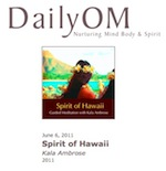 Daily OM Review of Kala's Spirit of Hawaii Meditation CD