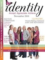 Magazine Cover - Identity Magazine - Nov 2010