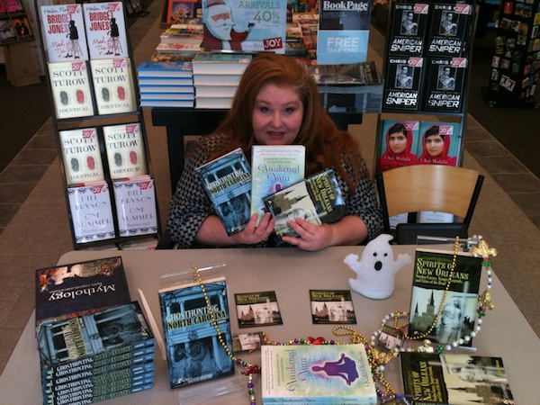 Kala Ambrose at a Booksigning -- Books-A-Million -- Spirits of New Orleans