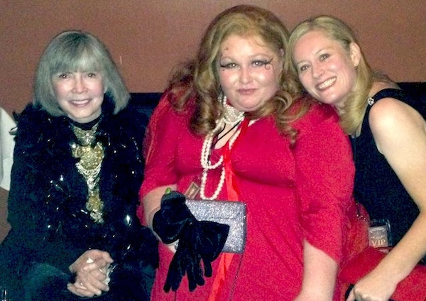 Kala Ambrose with Anne Rice at the Vampire Lestat Vampire Ball in New Orleans, on book tour for Spirits of New Orleans