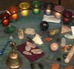 candles-and-gemstones
