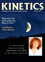 Magazine Cover - Kinetics - March 2009