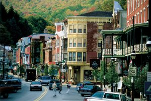 I'm back where it all began - sorta. In Pennsylvania, but in a whole new area, Jim Thorpe.