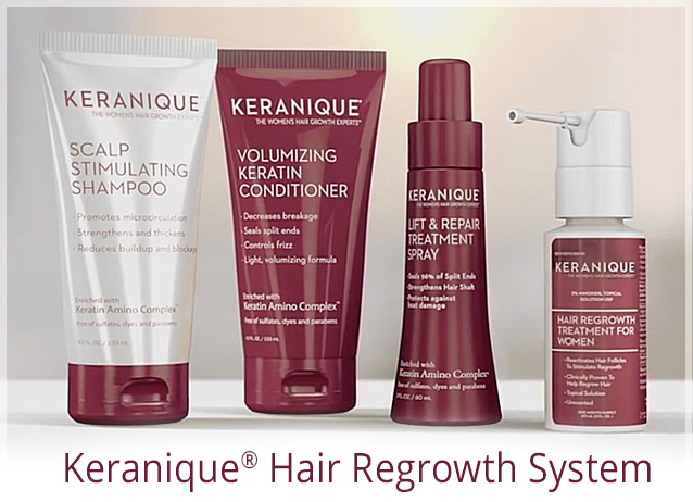 Keranique hair regrowth system