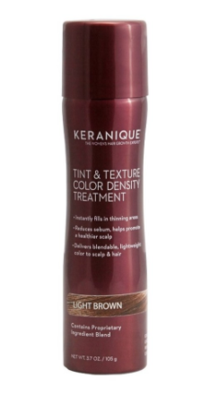 tint and texture spray keranique