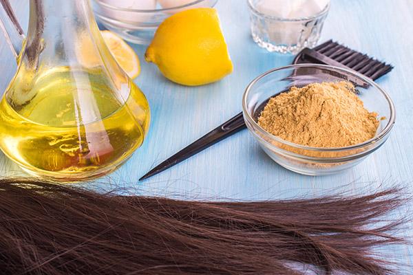 DIY Hair Marks for Dry Hair