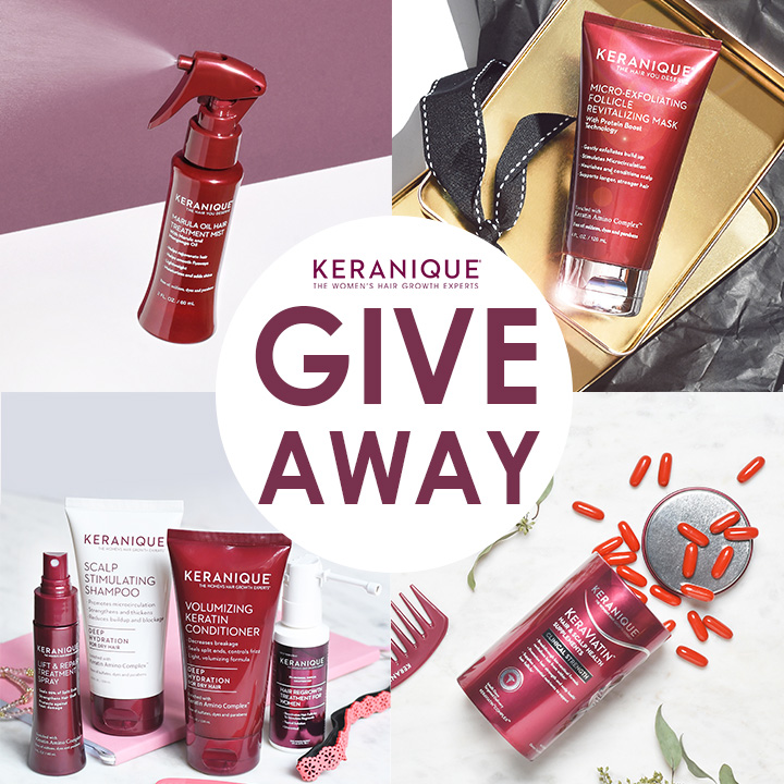 Keranique Instagram Final Giveaway