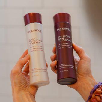 keranique thickening shampoo
