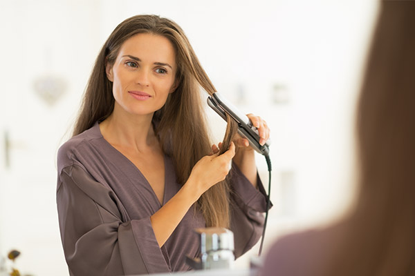 How To Straighten Your Hair and Avoid Split Ends