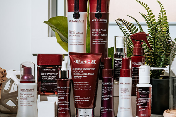 Keranique Products That'll Treat Thinning Hair