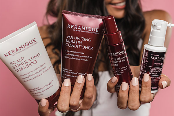 Start Keranique Now for New Hair Growth in 2022 With Our 3-Step System