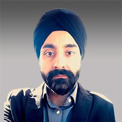 Zubin Singh headshot