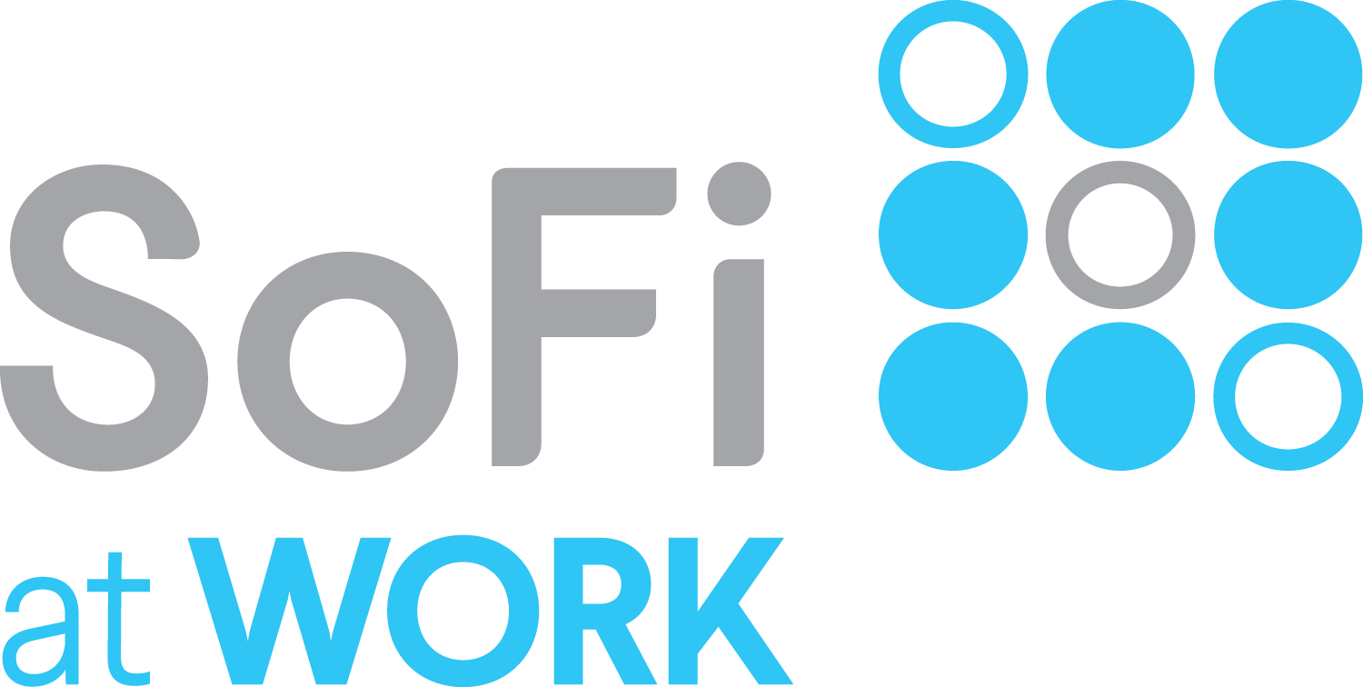 SoFi at Work logo