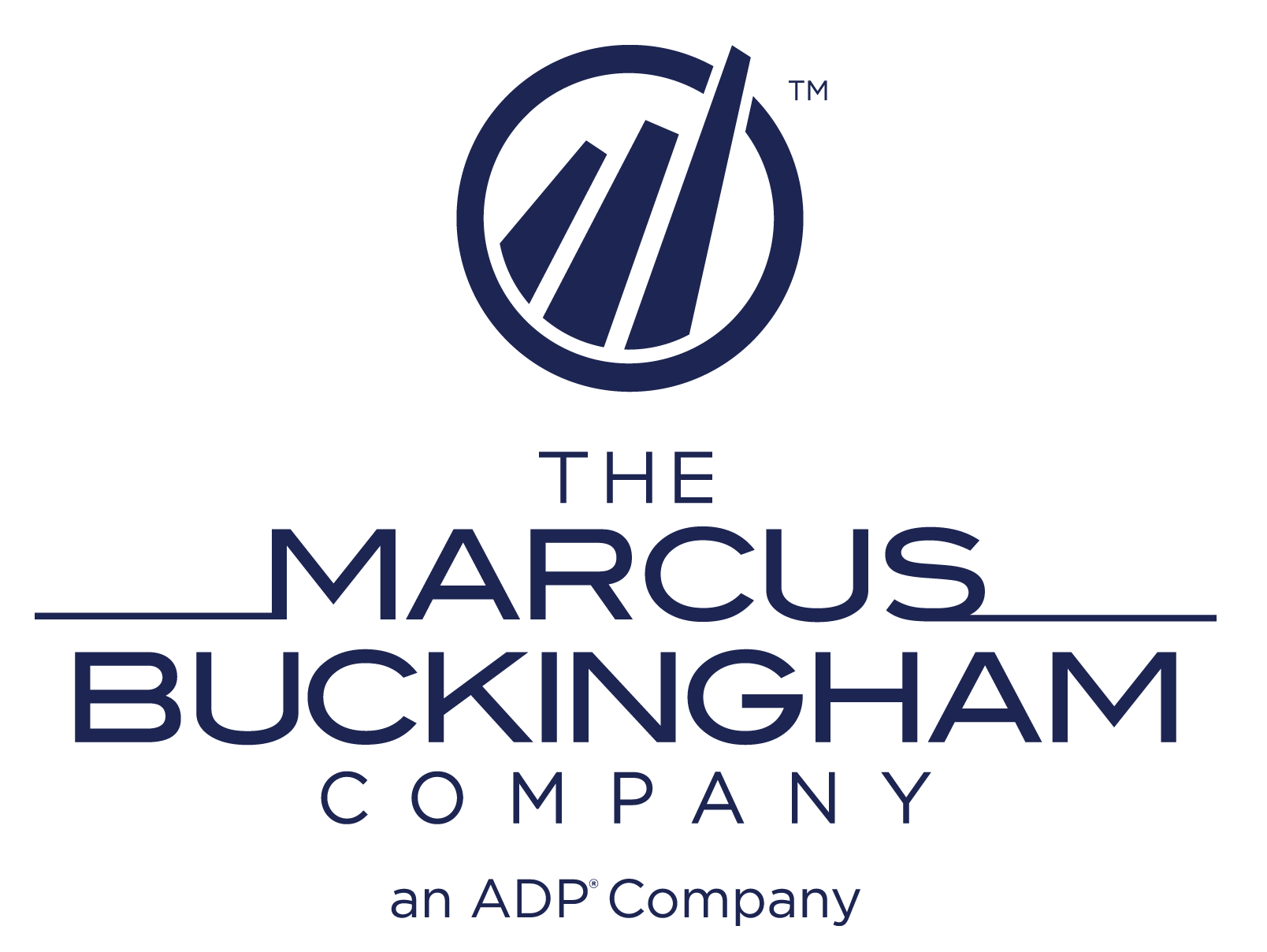 The Marcus Buckingham Company, an ADP company logo