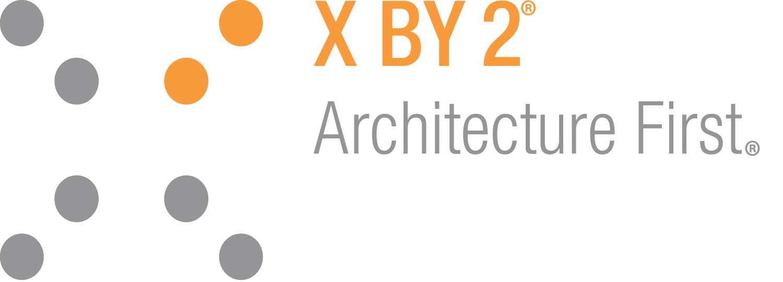 X by 2, LLC logo