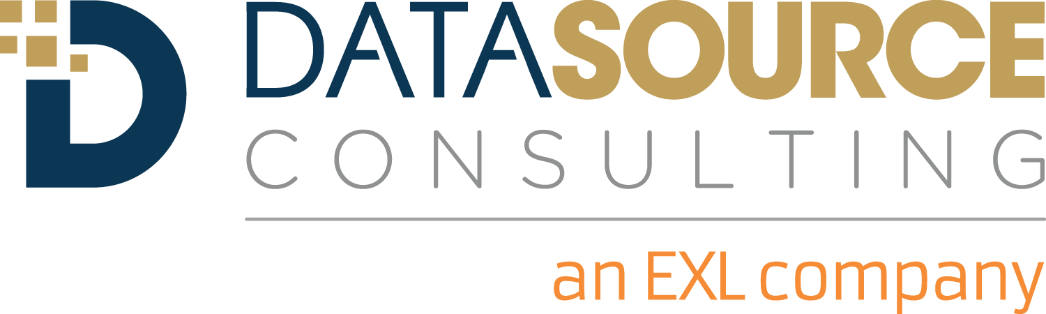 Datasource Consulting, an EXL company logo