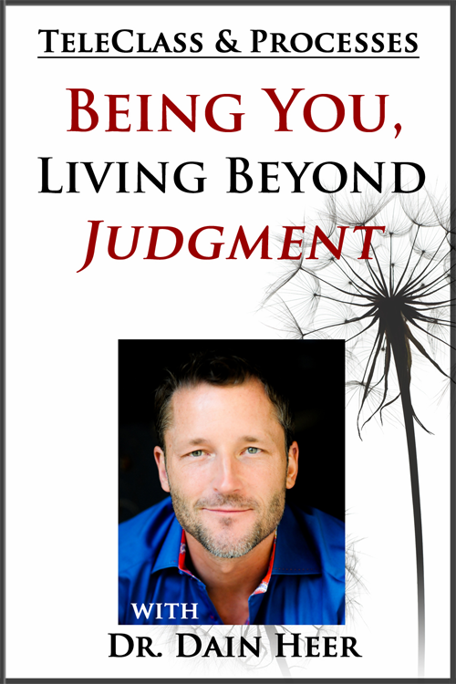 Being You, Living Beyond Judgment Call + Processes