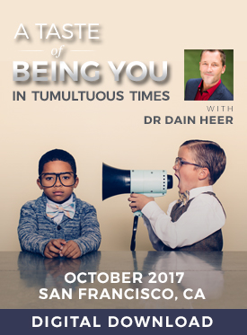 A Taste of Being You in Tumultuous Times Oct-17 San Francisco