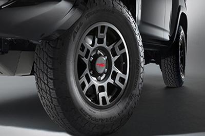 """17"""" TRD Pro Alloys w/All-Terrain Tire Upgrade"""