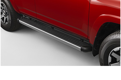 Running Boards with Chrome Edge