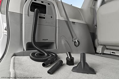 On-board Vacuum